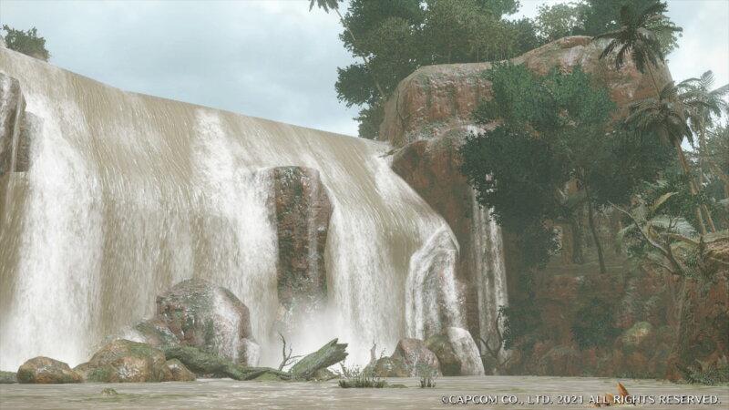 モンハンライズの水没林